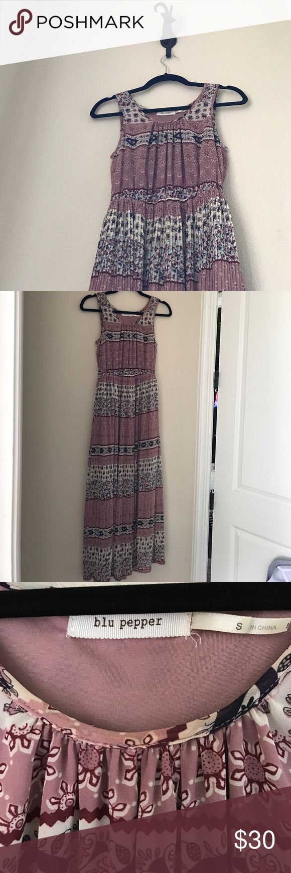 Blu Pepper Tank Maxi Dress Like new, originally from Nordstrom and I now offer 20% off any 2! Blu Pepper Dresses Maxi