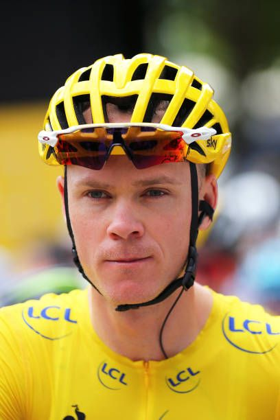 104th Tour de France 2017 / Stage 8 Start / Christopher FROOME Yellow Leader Jersey / Dole Station des Rousses 1178m / TDF/