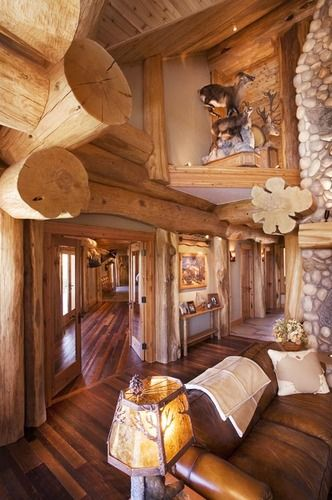 Photo Gallery of Custom handcrafted log homes and more