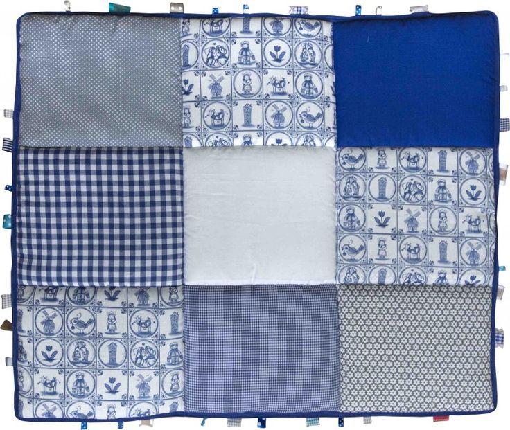 Boxkleed / Speelkleed: Delftsblauw