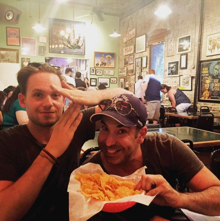I love their friendship. Rick Hoffman + Patrick J Adams Suits USA