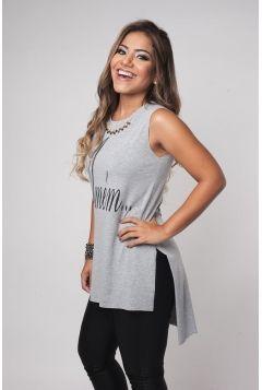 81c53256a Blusa Feminina Amém - Mescla Camisetas Para Malhar