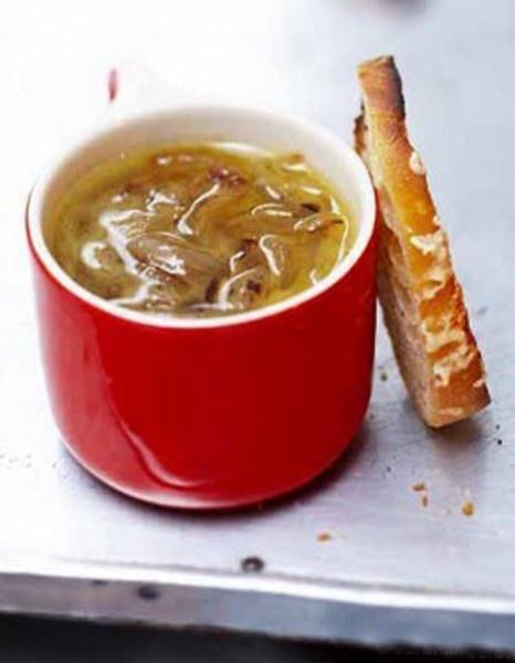 Soupe à l'oignon (en fin de réunion hivernale)
