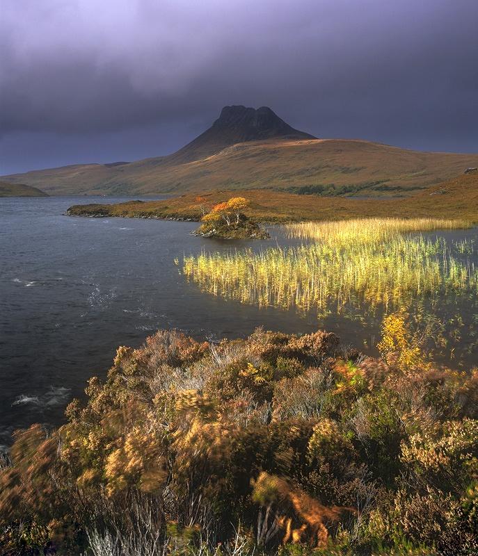 Loch Lurgainn, Inverpolly, Scotland Photo by Ian Cameron