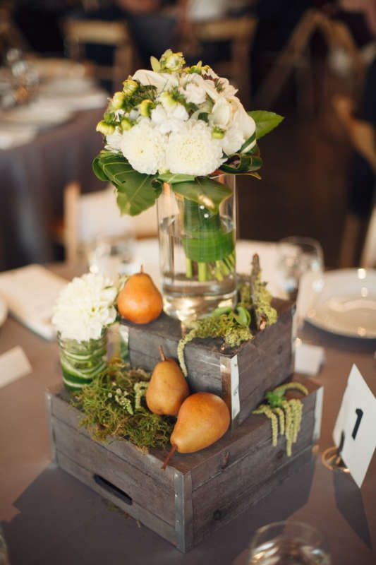 Creative And Unconventional Wedding Reception Centerpiece
