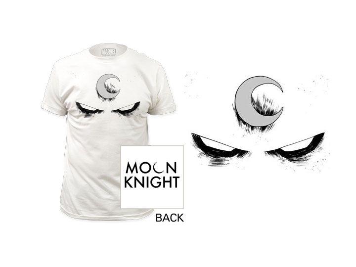 #transformer Marvel Moon Knight White Eyes T-Shirt