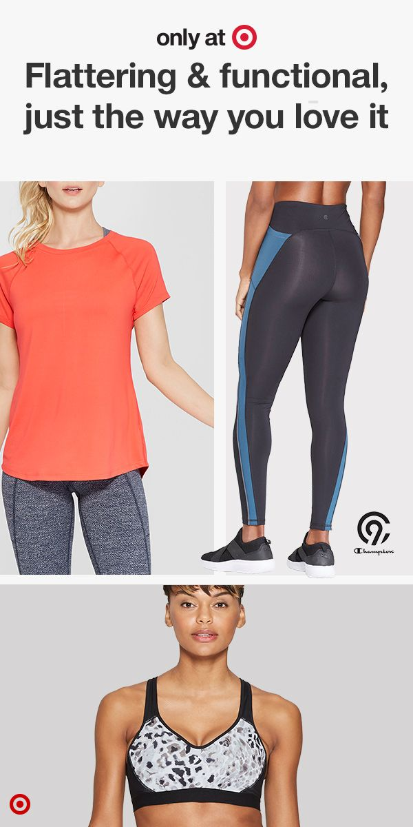 76eaada9 Shop C9 Champion soft and comfortable activewear for women. Only at Target.  From long