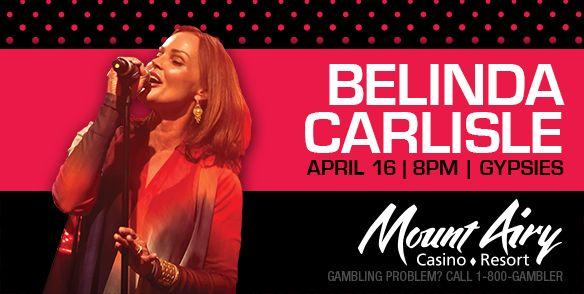 Belinda carlisle casino