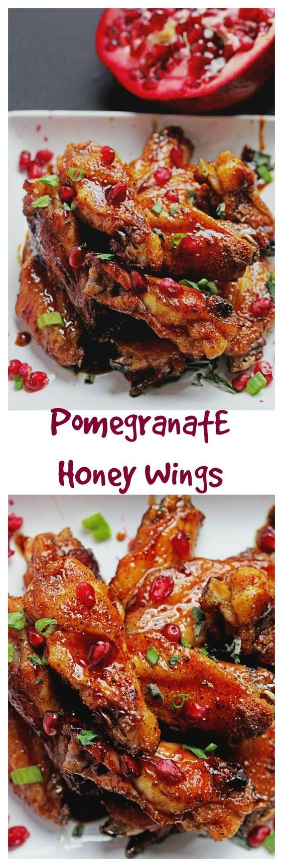Pomegranate Honey Wings | Grandbaby Cakes
