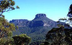 Pigeon House Mountain near Milton NSW
