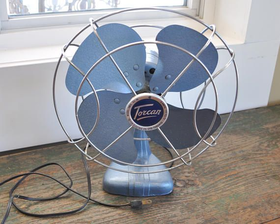 Vintage  Torcan desk fan  great working condition