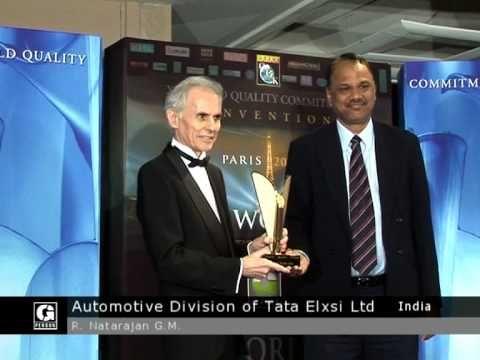 B.I.D. Quality Awardees in Frankfurt Paris Geneva New York and London