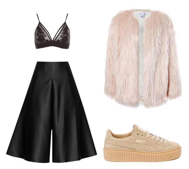 """""""Slayin the streets"""" by vankaa on Polyvore featuring Solace, River Island, Sans Souci and Puma"""