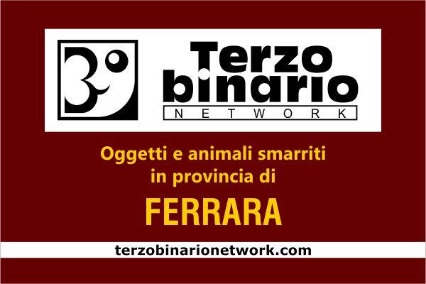 Oggetti e animali smarriti in provincia di Ferrara