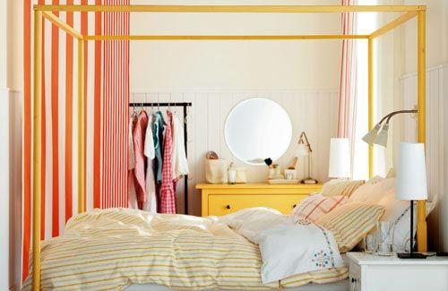 Neutrale slaapkamer inrichten met kleur | Interieur inrichting