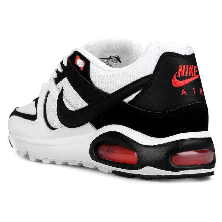 Zapatillas Nike Air Max Command Leather - Blanco y Negro