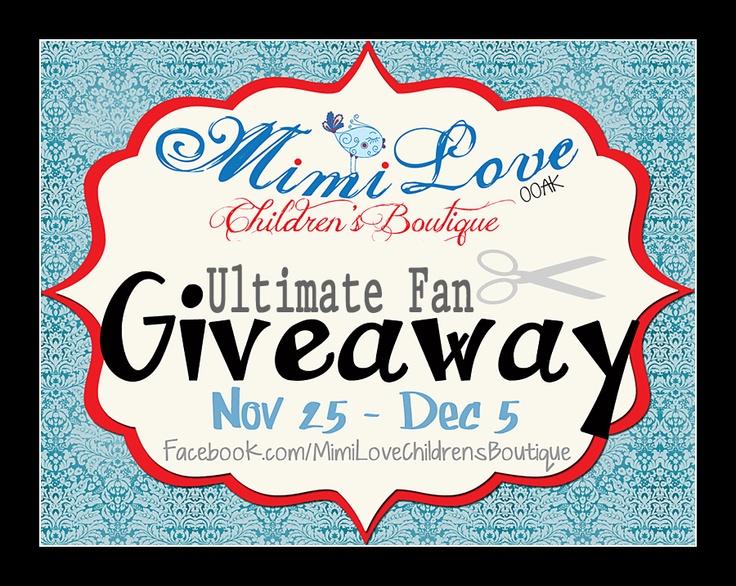 Ultimate Fan GIVEAWAY   Don't miss out!!!  http://mimiloveboutique.blogspot.com/2012/11/2k-fan-giveaway.html