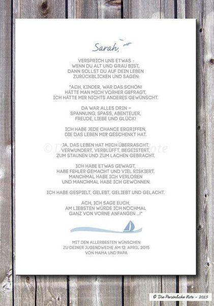 Gastgeschenke - Druck/Print: Taufe/Geburt/Konfirmation/Jugendweihe - ein Designerstück von DiePersoenlicheNote bei DaWanda