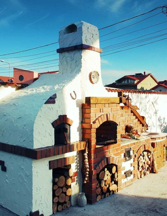 La malul marii/ On the shore sea/ Barbecue model made by eGratare.ro. See all 20 models on adelaparvu.com