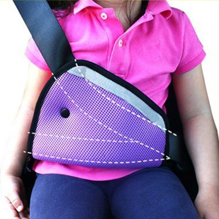 8 Farbe auto Sicher Fit Sicherheitsgurt Teller auto sicherheitsgurt einstellen gerät baby kind schutzstellungs Atmungs 1 taste