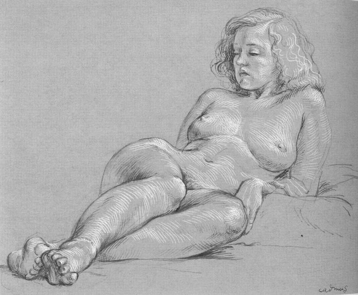 Artisitc sketches of nudes