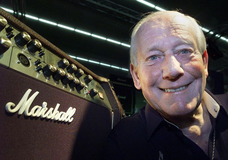 Jim Marshall made the guitar amplifiers that give rock-and-roll bands their aggressive roar. He died April 5 at 88.