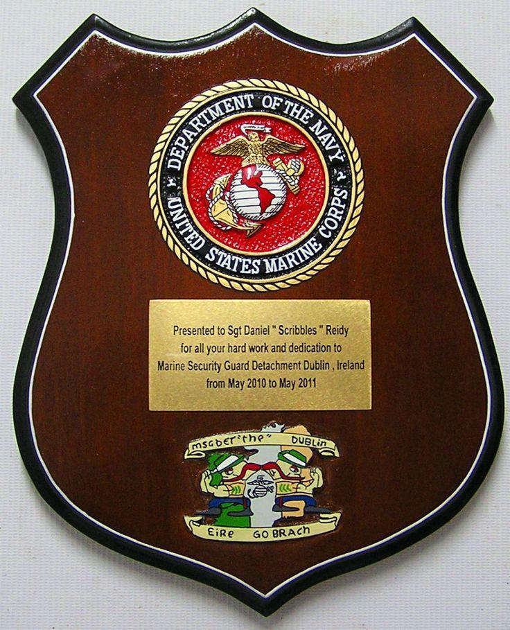 US Veteran Presentation Plaque Wording | Military Veteran ...
