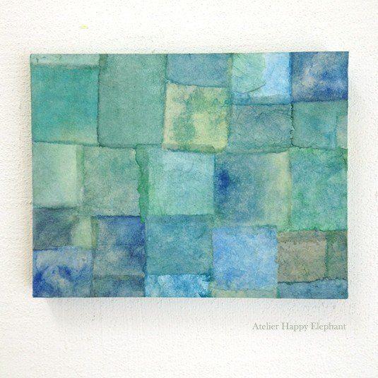 青や緑のナチュラルカラー