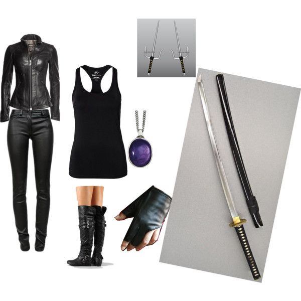 """Shadowhunter Gear"" by mariefaithdougan on Polyvore"
