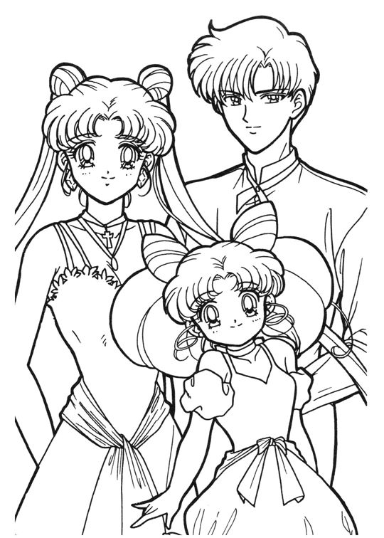 sailor moon coloring pages printable szukaj w google - Sailor Moon Coloring Pages