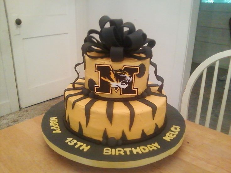 23 Best Images About Mizzou Cakes On Pinterest Cookie