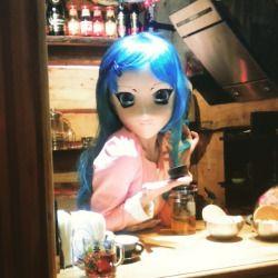 #kigurumimask #kigurumi #mask #animegao #anime #doll #girl #photosession  at ArtEria (#ArtArea #timeclub)