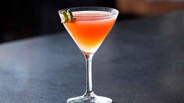 Blood Orange Cosmopolitan Cocktail
