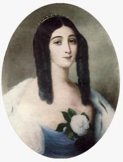 Marie Duplessis (la dame aux camélias)