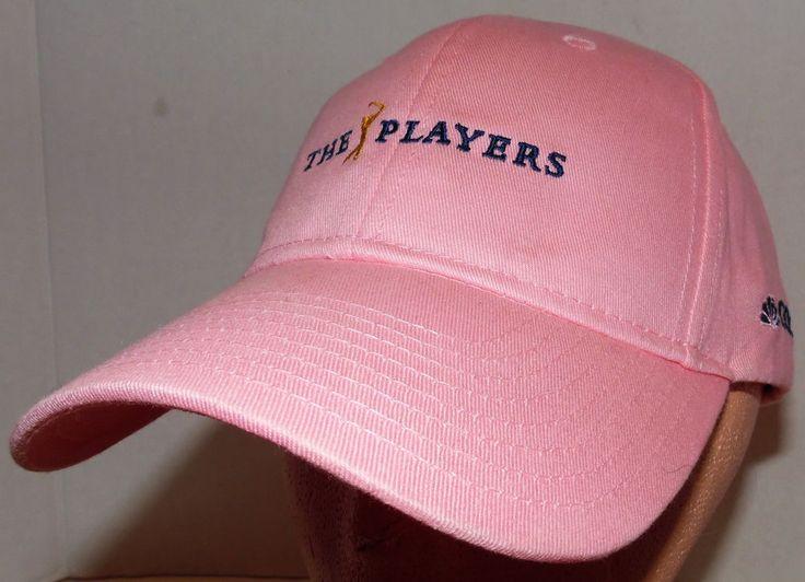 NBC Golf TV Women's The Players Championship Golf PGA Tournament Velcroback Hat #Otto #BaseballCap