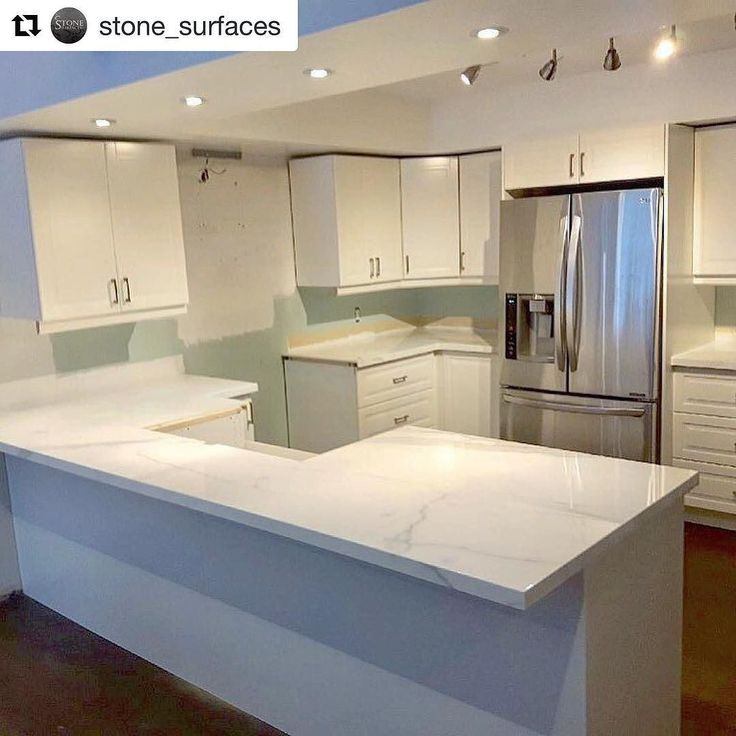 #Repost @stone_surfaces Kitchen countertop supplied by @MarbleTrend using #Neolith Estatuario  Start 2018 with a new look... Estataurio Porcelain Neolith #kitchendesign #kitchenupdate #renovation #fabrication #instalation #stonesurfaces #Estataurioporcelain #neolith