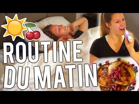 ROUTINE du matin | Version ÉTÉ - YouTube