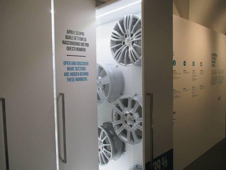Sezione Alluminio - Museo Nazionale della Scienza e della Tecnologia Leonardo Da Vinci - Milano - Krea allestimento e grafiche
