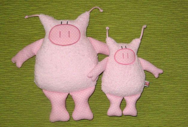 "Das Schwein  "" Jewgeni ""  in XL !!! (Diy Pillows Animal)"