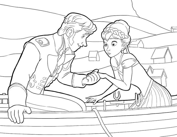 Frozen Coloring Page Round Up