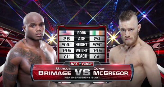 Video: Fight Night Dublin Free Fight – Conor McGregor vs. Marcus Brimage | TalkingBrawlsMMA.com