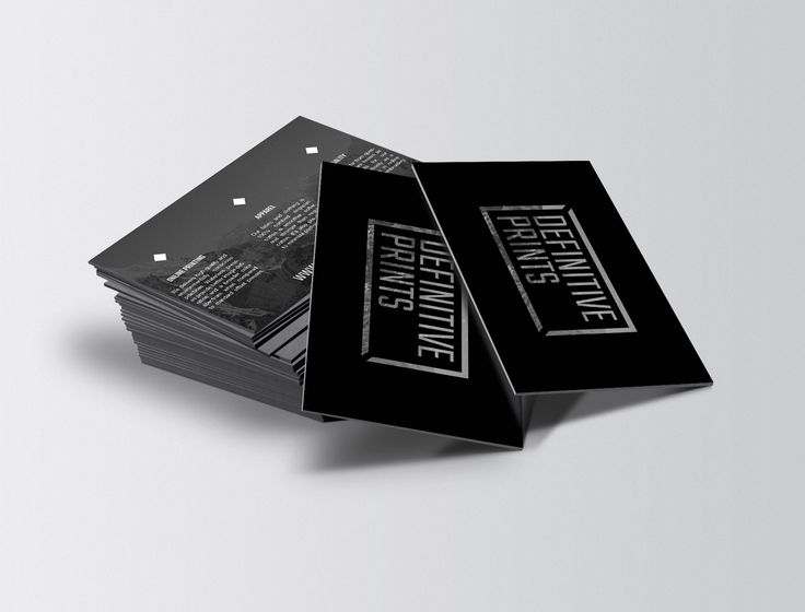 Create Overnight Business Cards Ideas