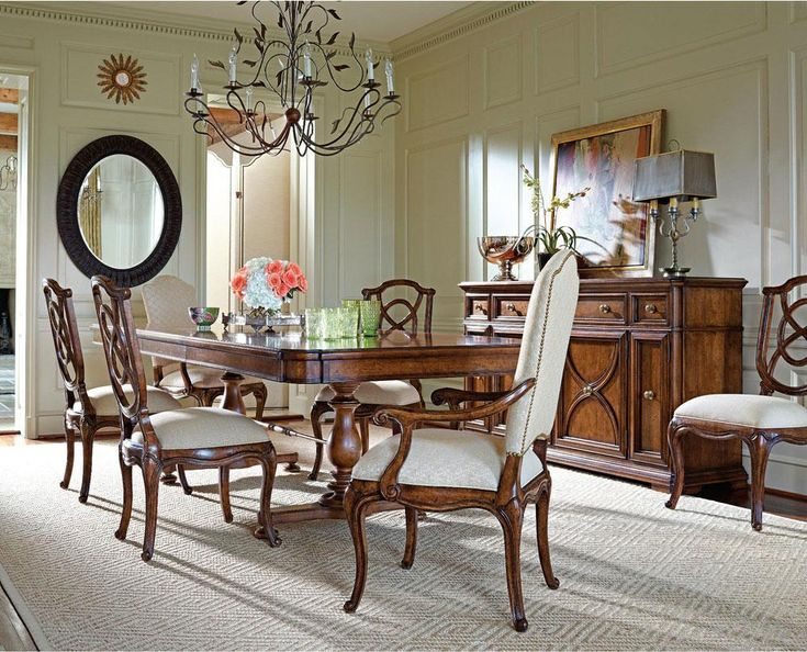 70 Best Dining Room Images On Pinterest  Chairs Lillian August Fair Stanley Dining Room Set Design Decoration