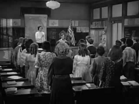 Pledge of Allegiance from 1939 Film (Before Under God was added) - YouTube