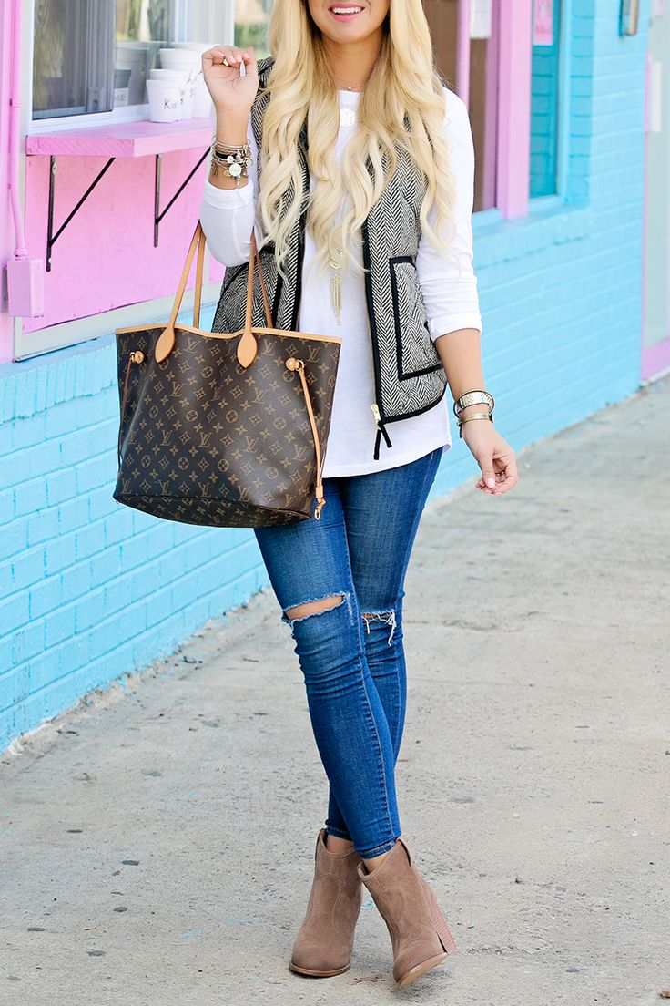 How to wear a herringbone vest || Cort In Session