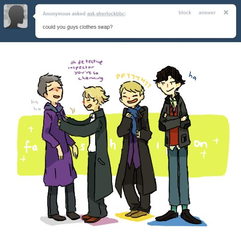 The Final Problem — ask-sherlockbbc: meanwhile mycroft and moriarty...