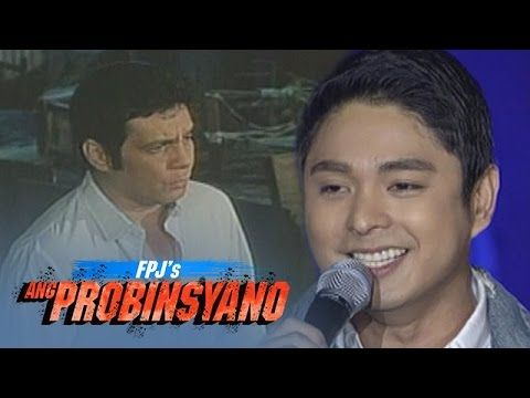 """This is the video of Coco Martin singing """"Doon Lang"""" with Fernando Poe, Jr. on-screen during Isang Pamilya Tayo: FPJ's Ang Probinsyano Anniversary Concert held at the Smart Araneta Coliseum last October 9, 2016. Indeed, they're good performers and Coco is one of my favourite Kapamilyas and an amazing Star Magic talent. #CocoMartin #IdolongMasa #FPJsAngProbinsyano"""