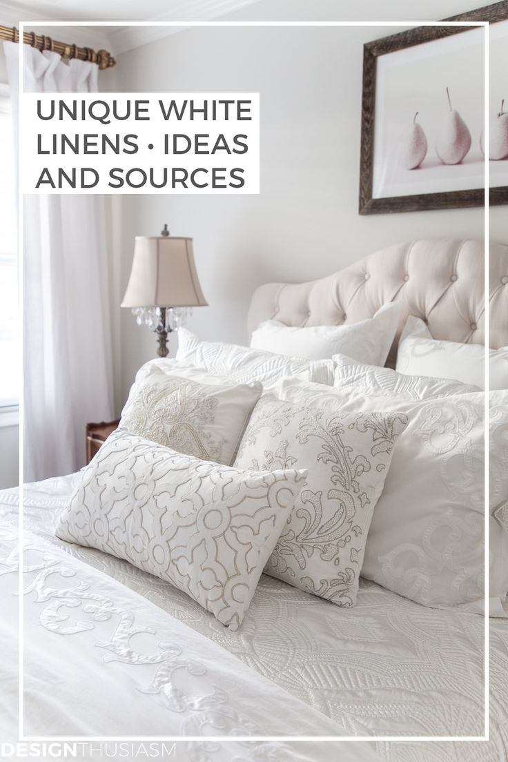 White Bedding Refresh Your Home For Winter With Luxury Bed Linen