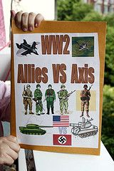 World war 2 lapbook - forget the children, I need this!  Can't wait to teach Clara about Bulgaria's role in WWII!