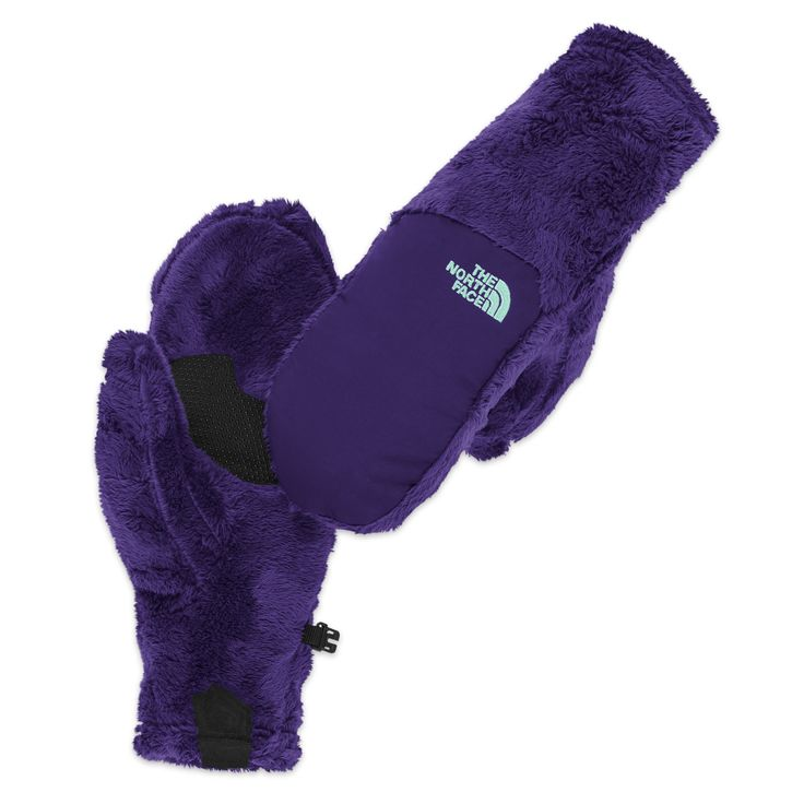 The North Face Women's Denali Thermal Mitt - $39.99 CDN The North Face Women's Denali Thermal Mitt is a classic high-loft fleece mitten with a women-specific fit. It is comfortable for everyday winter wear in cool-to-cold conditions. An abrasion-resistant Taslan® overlay at on the back of the hand adds durability.